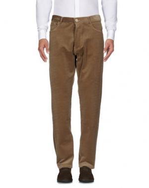 Повседневные брюки BLEU DE PANAME. Цвет: хаки