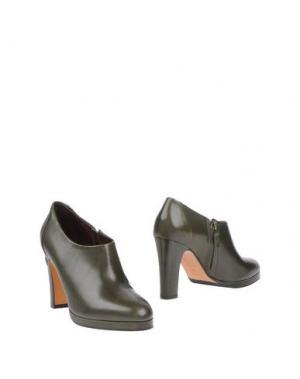 Ботинки BRUNO MAGLI. Цвет: зеленый-милитари