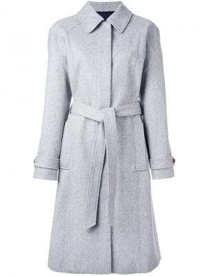 Пальто Aube Vanessa Seward. Цвет: серый