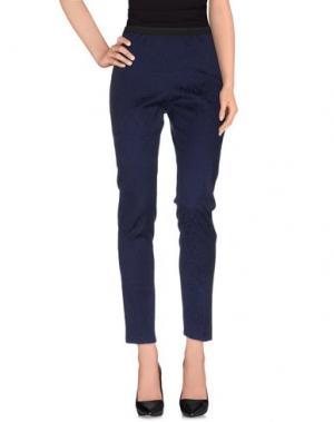 Повседневные брюки LABORATORIO. Цвет: темно-синий
