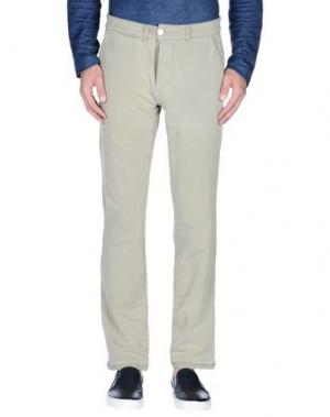 Повседневные брюки CHARAPA. Цвет: светло-зеленый