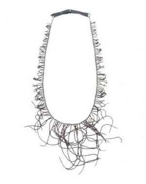 Ожерелье BRUNELLO CUCINELLI. Цвет: бронзовый