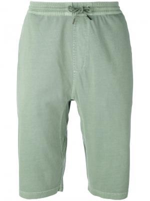 Спортивные шорты Maharishi. Цвет: зелёный