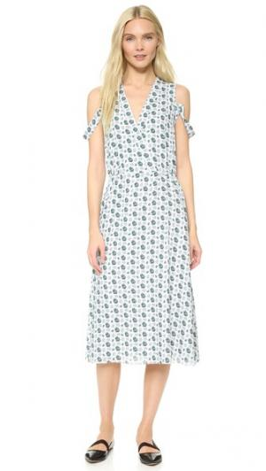 Платье Dusk CG. Цвет: цветочный коллаж