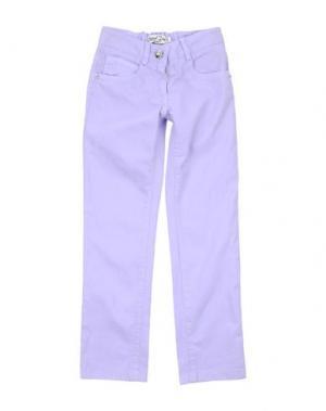 Джинсовые брюки SPECIAL DAY. Цвет: сиреневый