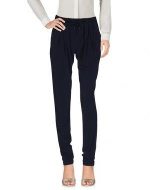 Повседневные брюки ANTONELLI. Цвет: темно-синий