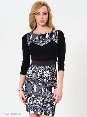 Платье MARY MEA. Цвет: черный