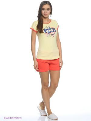 Комплект одежды Vienetta Secret. Цвет: светло-желтый, желтый