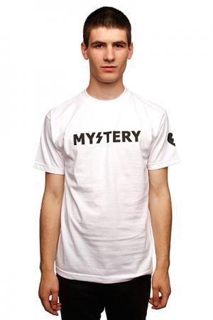 Футболка  Logo Text Mystery. Цвет: белый