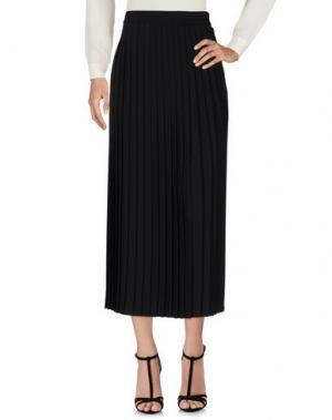 Длинная юбка PIU' &. Цвет: черный