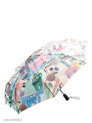 Зонт Flioraj. Цвет: белый, зеленый, оранжевый