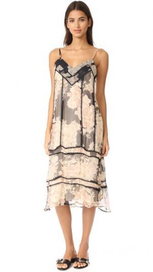 Миди-платье Marla Cleobella. Цвет: винтажный розовый