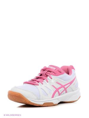 Кроссовки GEL-UPCOURT GS ASICS. Цвет: белый, розовый