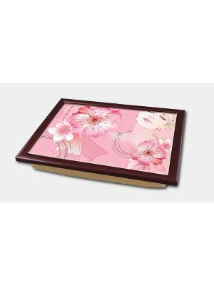 Поднос-столик Magic Home. Цвет: розовый