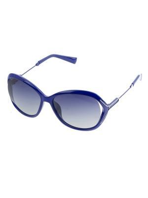 Солнцезащитные очки. Bijoux Land. Цвет: синий