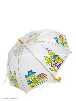 Зонт Flioraj. Цвет: желтый, синий