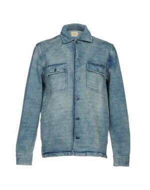 Куртка FAHERTY. Цвет: синий