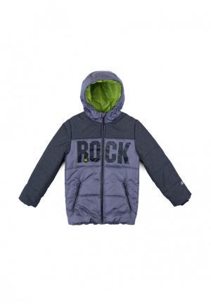Куртка утепленная PlayToday. Цвет: серый