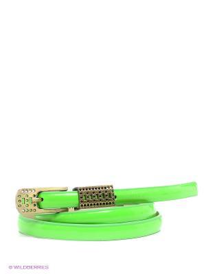 Ремень Vittorio Richi. Цвет: светло-зеленый