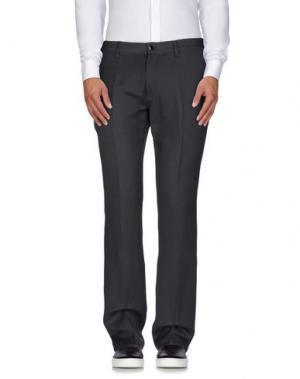 Повседневные брюки JOHN VARVATOS. Цвет: серый