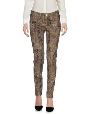 Повседневные брюки NORA BARTH. Цвет: голубиный серый