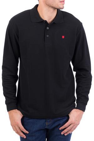Рубашка-поло POLO CLUB С.H.A.. Цвет: черный