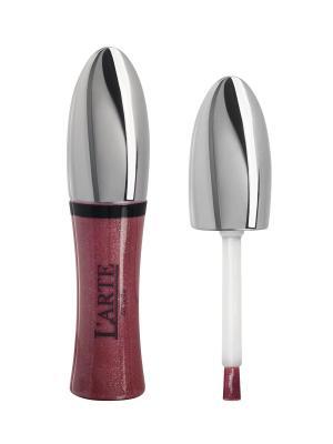 Увлажняющий блеск для губ COMFORT BRILLANTE, тон 11 L'arte del bello. Цвет: бордовый