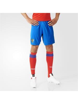 Спортивные шорты (трикотаж) муж. RFU A SHO Adidas. Цвет: синий