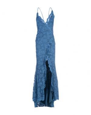Длинное платье BALENSI. Цвет: синий