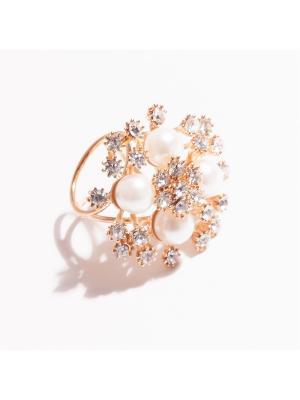 Кольцо для шарфа La'Viva. Цвет: золотистый