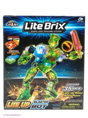 Конструктор Lite Brix Вrix. Цвет: зеленый