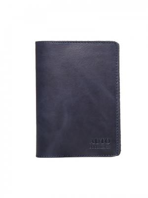 Бумажник водителя Forte. Цвет: синий