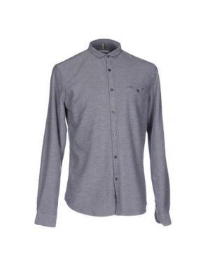 Pубашка INDIVIDUAL. Цвет: серый