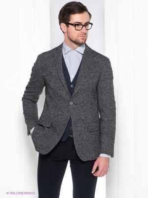Пиджак Henry Cotton's. Цвет: темно-серый