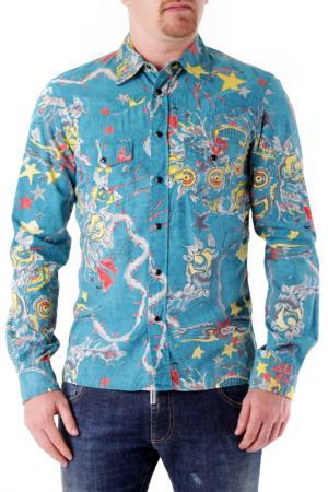 Shirt Richmond Denim. Цвет: blue, yellow, red