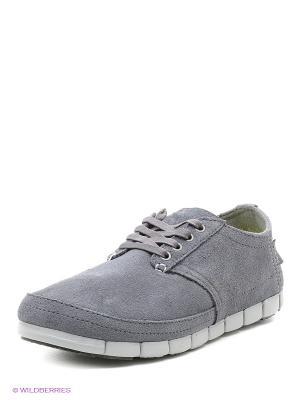 Ботинки CROCS. Цвет: серый