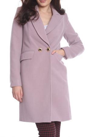 Пальто Bellissima. Цвет: lilac