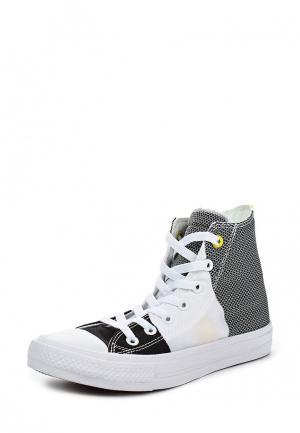 Кеды Converse. Цвет: черно-белый