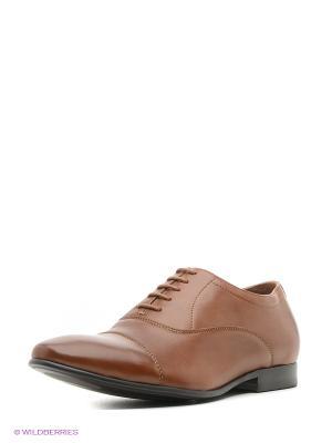 Туфли JUST COUTURE. Цвет: коричневый
