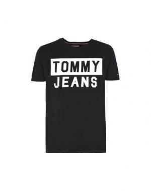 Футболка TOMMY JEANS. Цвет: черный
