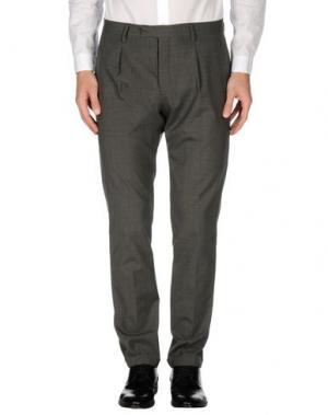 Повседневные брюки BRIGLIA 1949. Цвет: свинцово-серый
