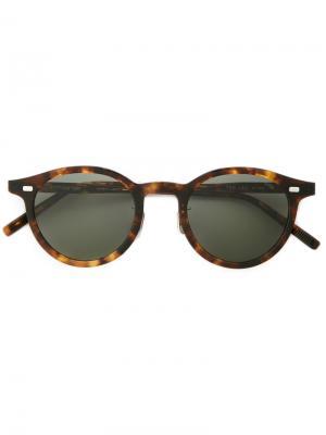 Round frame sunglasses Eyevan7285. Цвет: коричневый