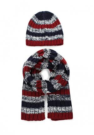 Комплект шапка и шарф Chicco. Цвет: разноцветный