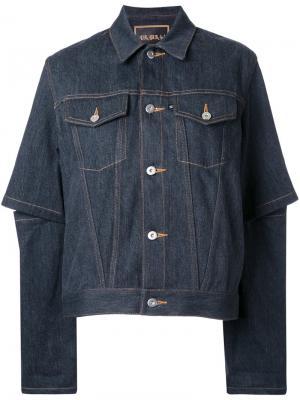 Джинсовая куртка G.V.G.V.. Цвет: серый