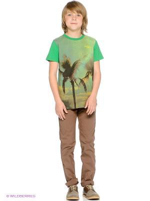 Брюки American Outfitters. Цвет: коричневый