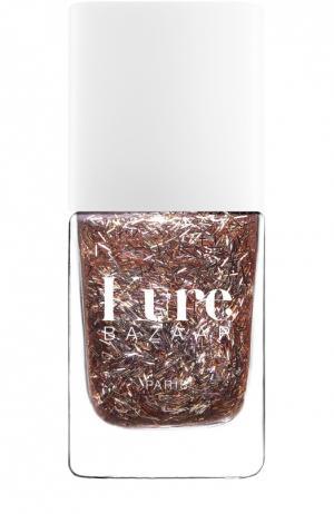 Лак для ногтей с блестками Crazy Kure Bazaar. Цвет: бесцветный