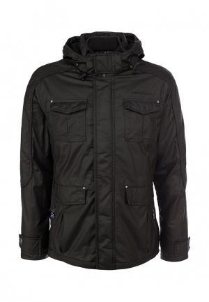 Куртка утепленная Goodyear. Цвет: коричневый