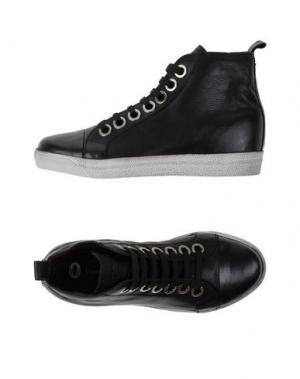 Высокие кеды и кроссовки OSVALDO1956. Цвет: черный
