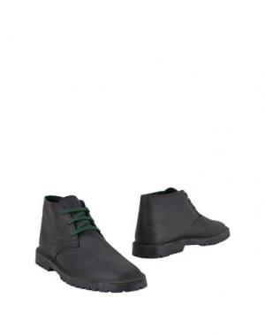 Полусапоги и высокие ботинки PIERRE DARRÉ. Цвет: темно-коричневый