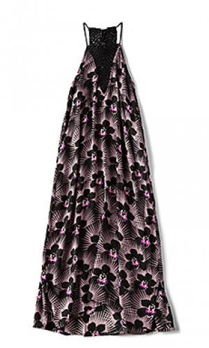Платье makawao Acacia Swimwear. Цвет: фиолетовый